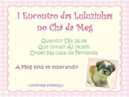 Convite da Meg